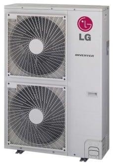 LG LMU600HV 60,000 BTU Multi-Zone Ductless Split Outdoor Air Conditioner with 70,000 BTU Heating ...