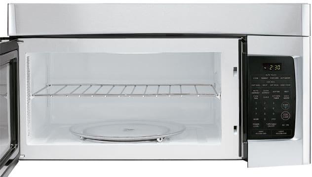 Lg Lmv1630st 1 6 Cu Ft Over The Range Microwave Oven