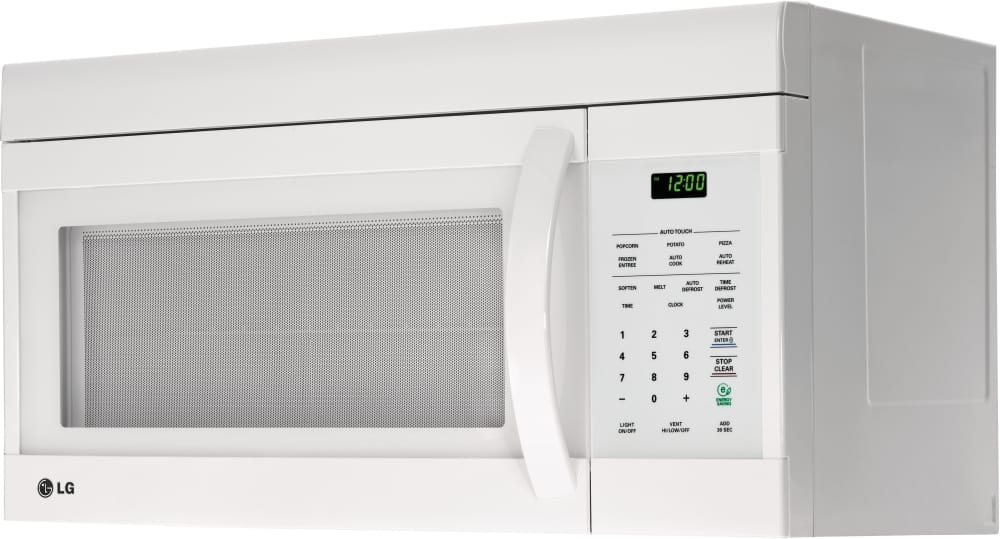Lg Lmv1683 1 6 Cu Ft Over The Range Microwave Oven With