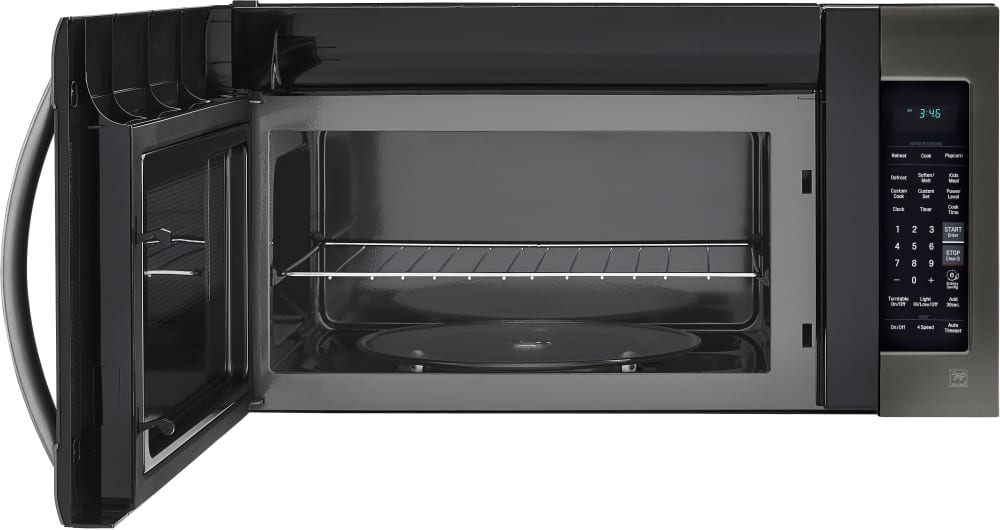 Lg Lmv2031bd 2 0 Cu Ft Over The Range Microwave Oven
