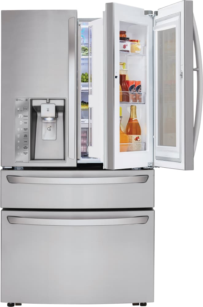 Lg Lmxc23796s 36 Inch Counter Depth 4 Door French Door