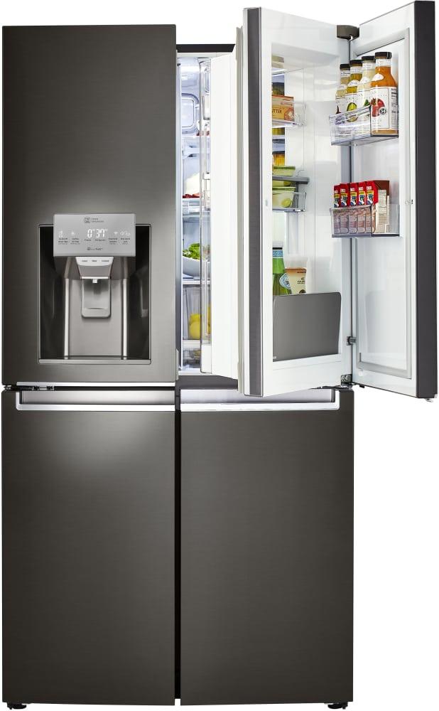 Lg Lnxs30866d 36 Inch 4 Door French Door Refrigerator With