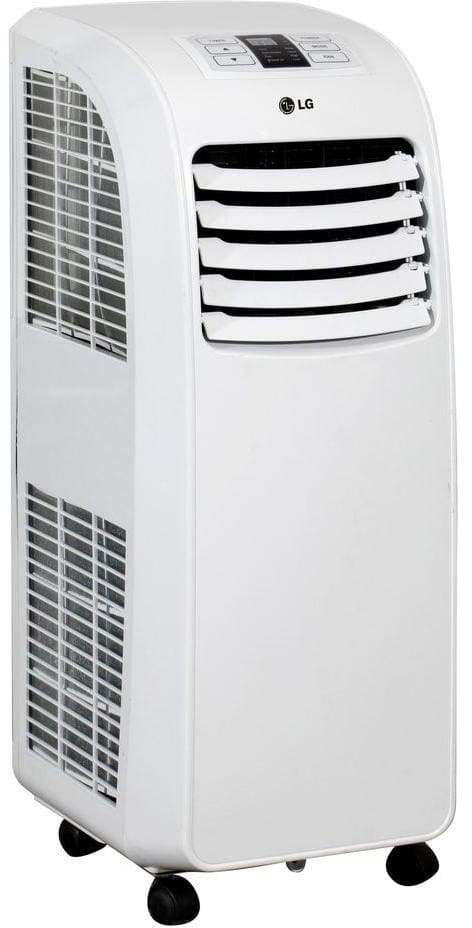 lg lp0815wnr front view lg lp0815wnr angle view - Air Conditioner Portable