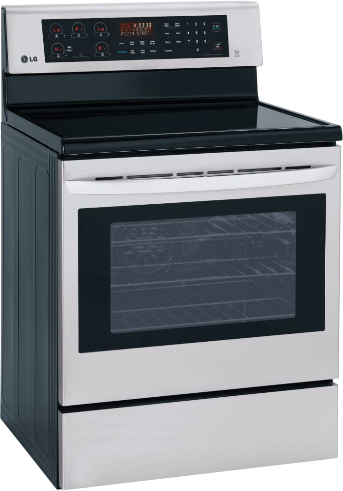LG LRE3083ST 30 Inch Electric Range With True Convection