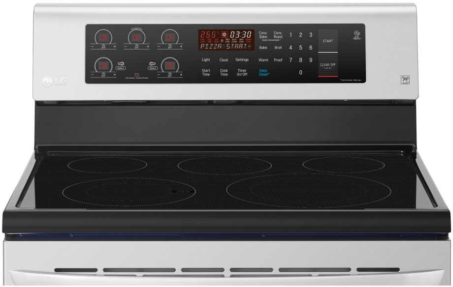 Lg Lre3193st 30 Inch Freestanding Electric Range With True