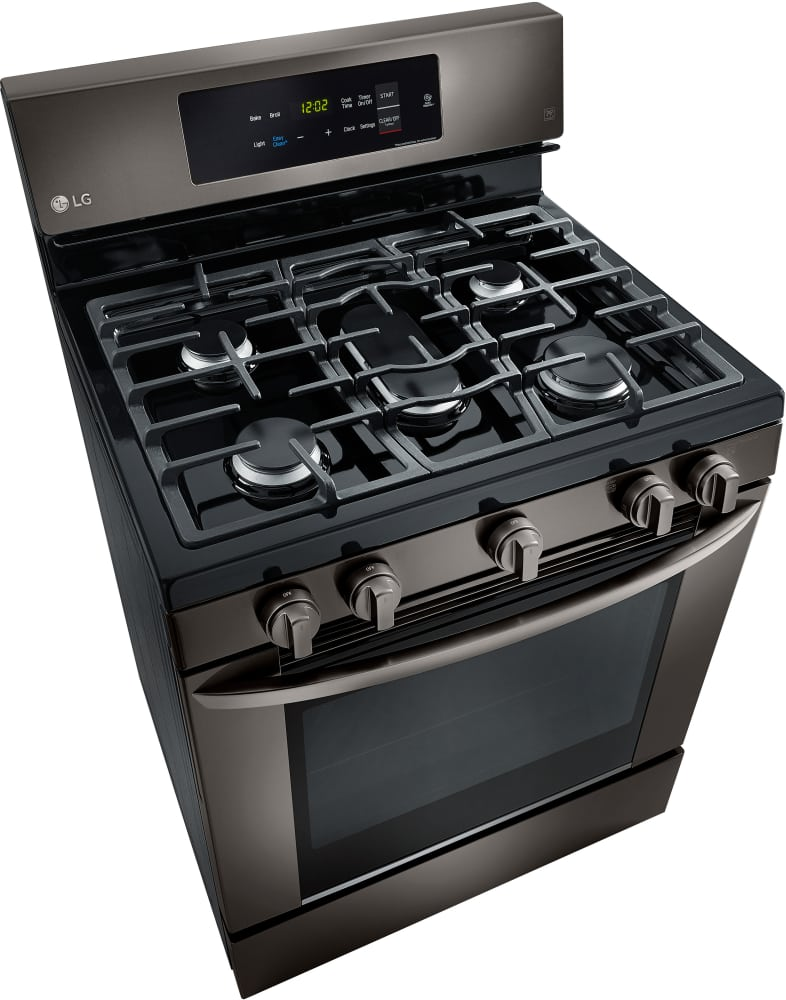 Lg Lrg3061bd 30 Inch Gas Range With 20 Minute Easyclean