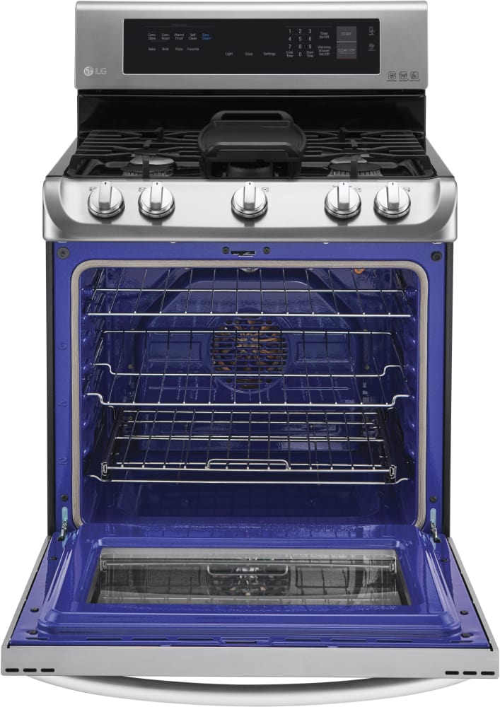 Lg Lrg4115st 30 Inch Gas Range With Probake Convection