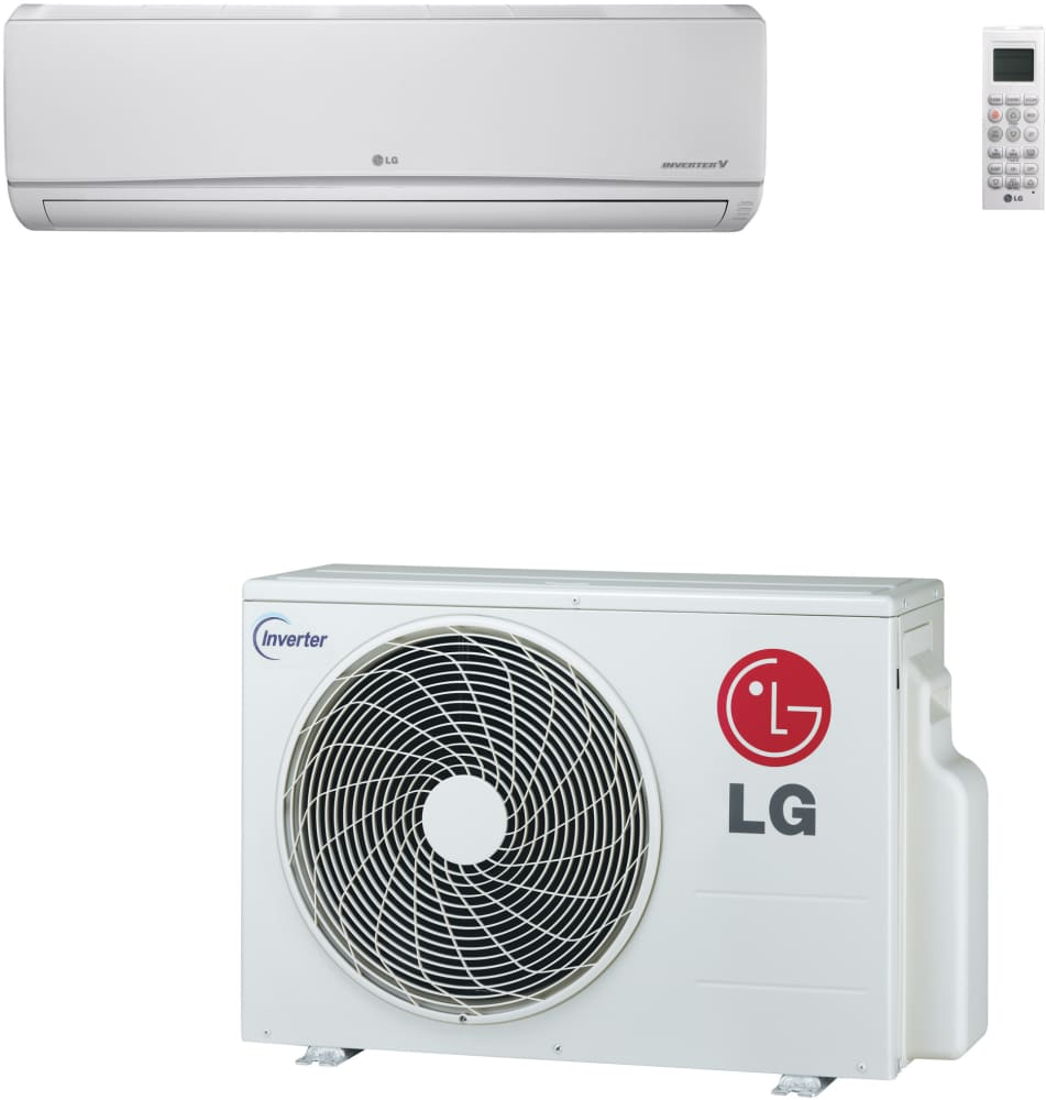 Lg Ls240hev1 22 000 Btu Mega Single Zone Wall Mount