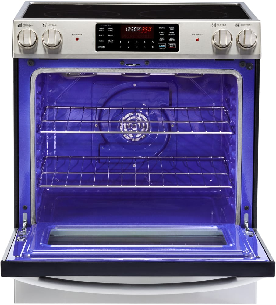 Lg Lse3090st 30 Inch Freestanding Electric Range With 4