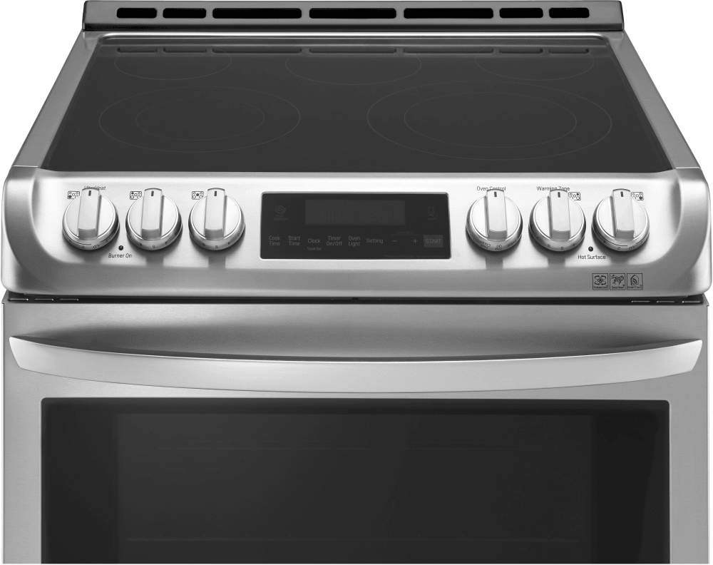 Lg Lse4613st 30 Inch Slide In Electric Range With Probake