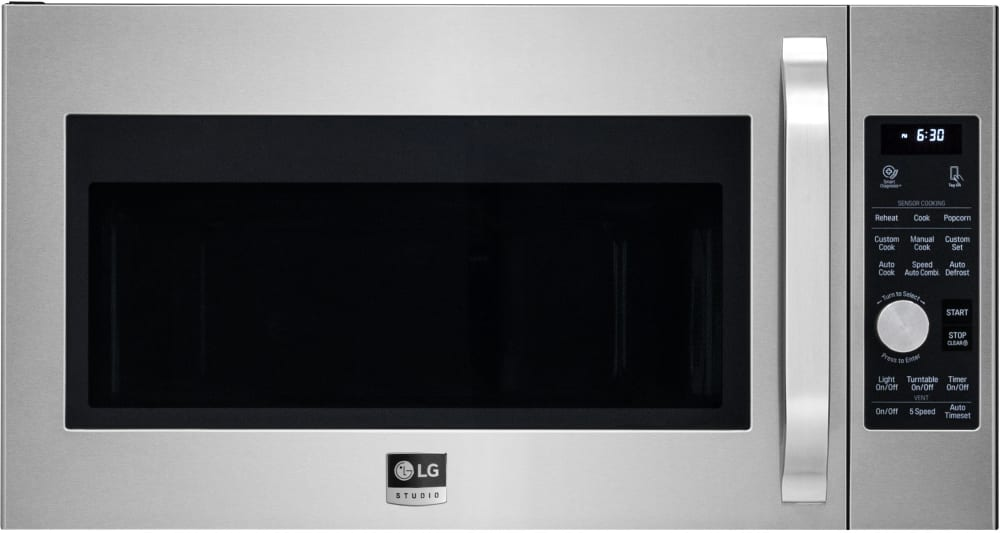 Lg Lsmc3086st 1 7 Cu Ft Over The Range Convection