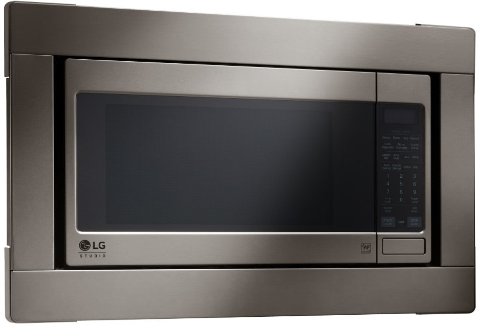 Lg Lsrm2010bd 2 0 Cu Ft Countertop Microwave Oven With