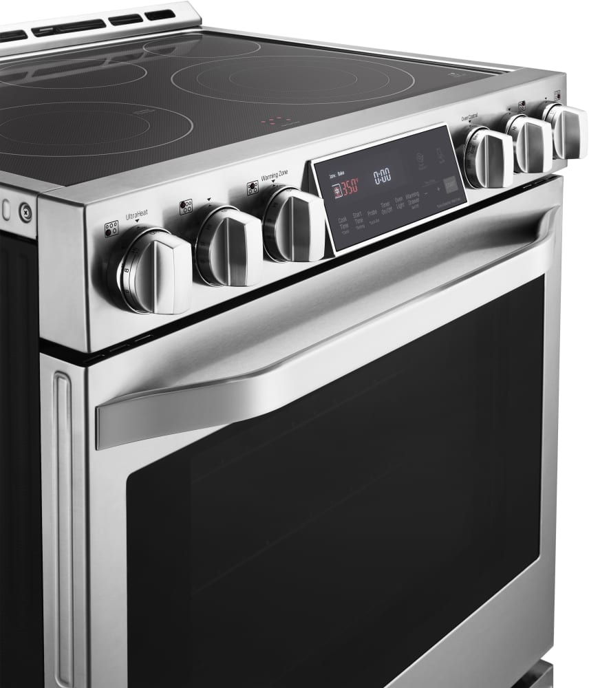 40 Inch Electric Range Part - 34: ... LG Studio LSSE3026ST - 3/4 View ...