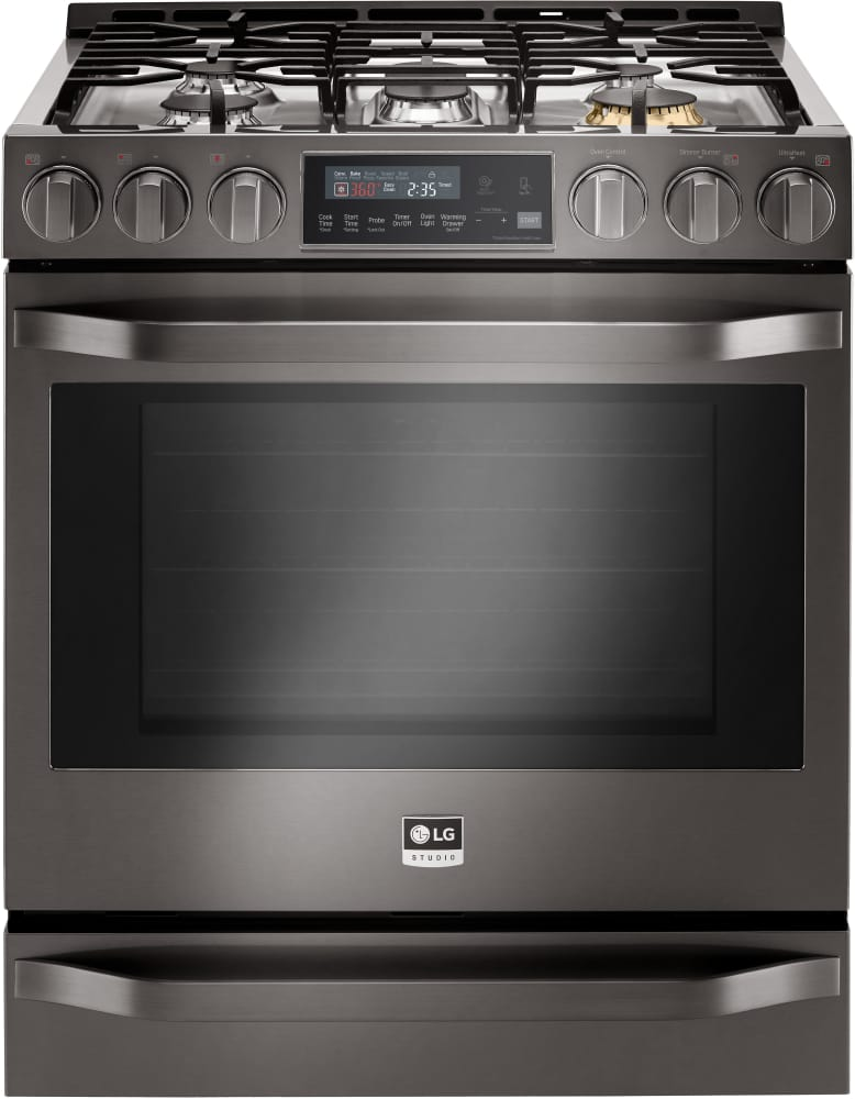 Lg Lssg3019bd 30 Inch Slide In Gas Range With 6 3 Cu Ft