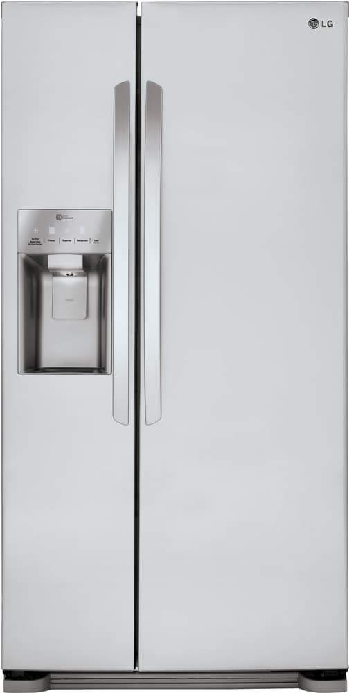 Lg Lsxs22423s 33 Inch Side By Side Refrigerator With