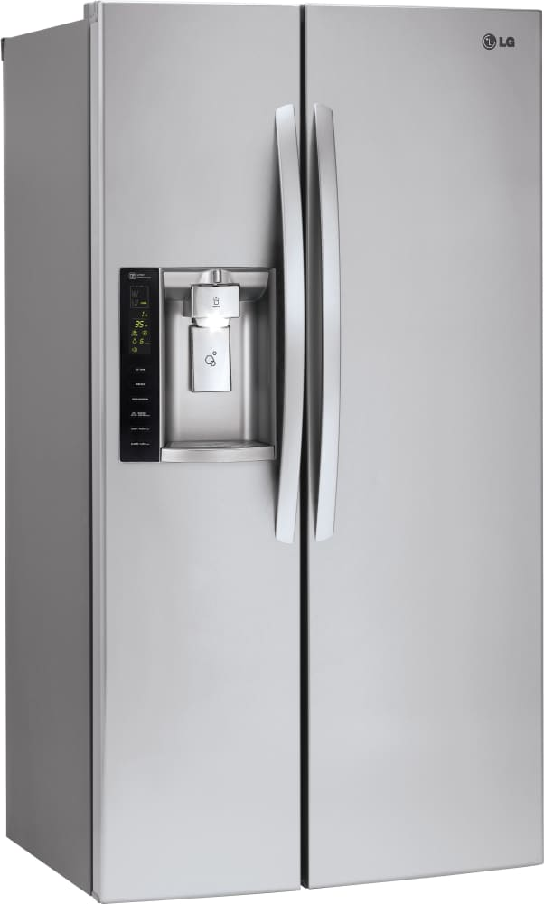 Lg Lsxs26326s 36 Inch Side By Side Refrigerator With Smart Cooling