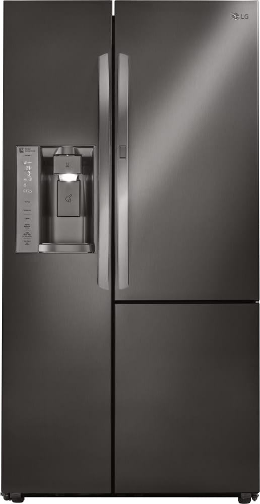 Lg Lsxs26386d 36 Inch Side By Side Refrigerator With Door