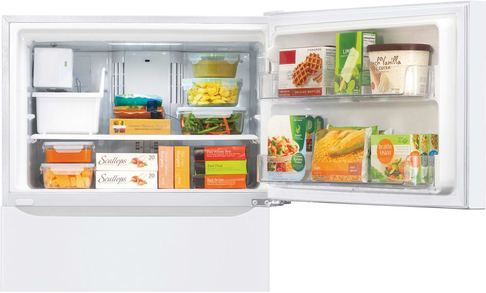 Lg Ltcs20220w 30 Inch Top Freezer Refrigerator With Ice