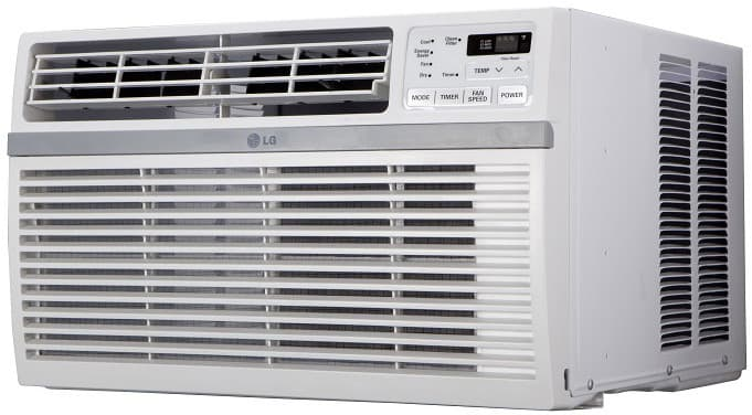 Lg Lw1216er 12 000 Btu Room Air Conditioner With 12 1 Eer