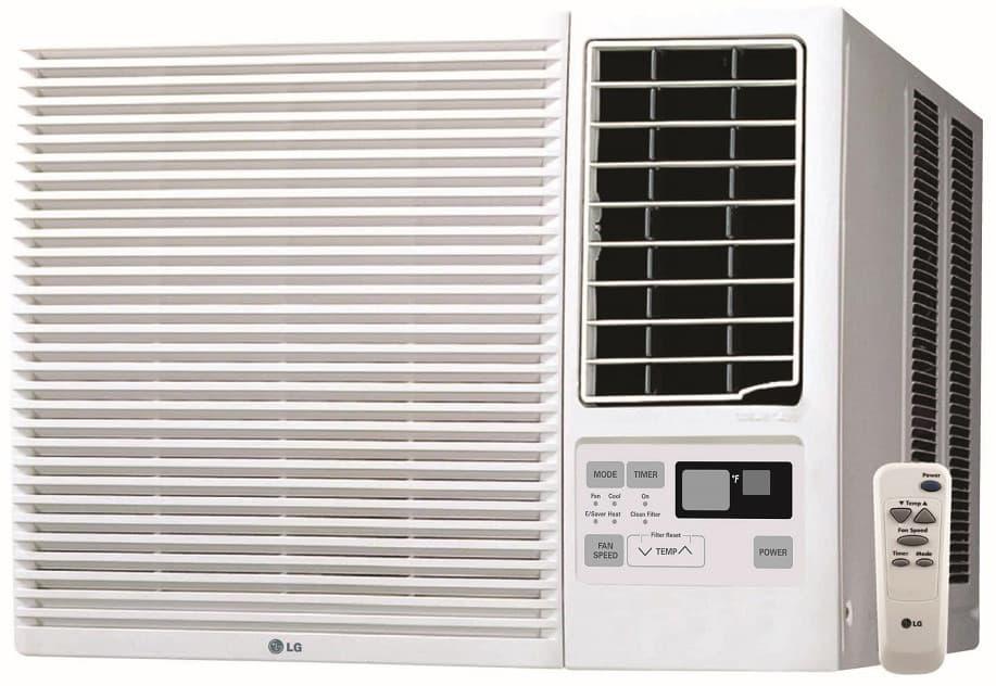 Lg Lw1816hr 18 000 Btu Window Air Conditioner With 12 000