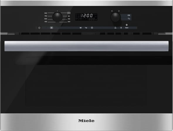 Miele M6260tc 24 Inch Built In Microwave Oven With 1 6 Cu