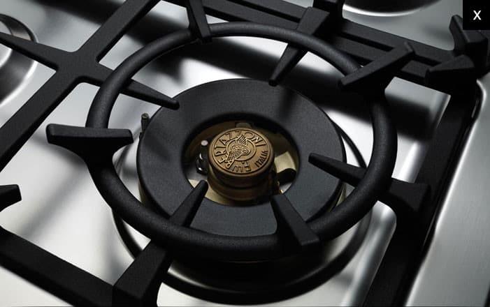 Bertazzoni Pro366gasxlp 36 Inch Pro Style Gas Range With 4