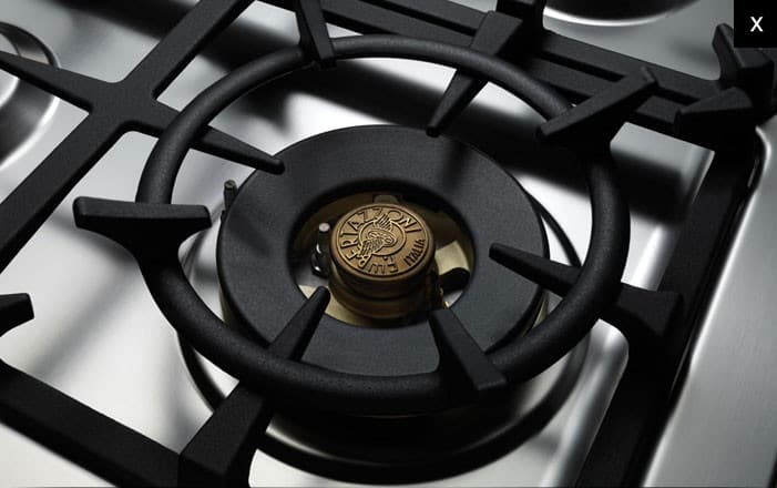Bertazzoni Pro244gasxlp 24 Inch Gas Range With Sealed