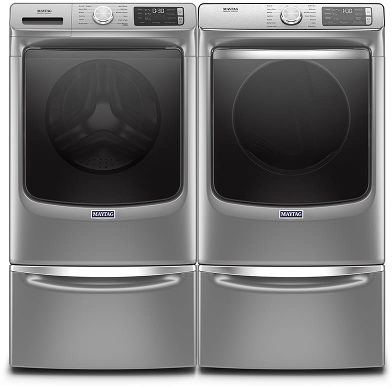 Maytag Mawadrgc66302 Side By Side On Pedestals Washer