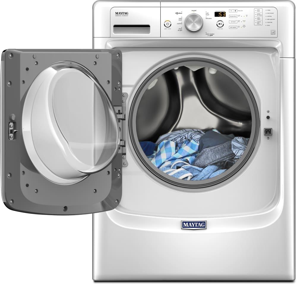 maytag front loading washing machine manual