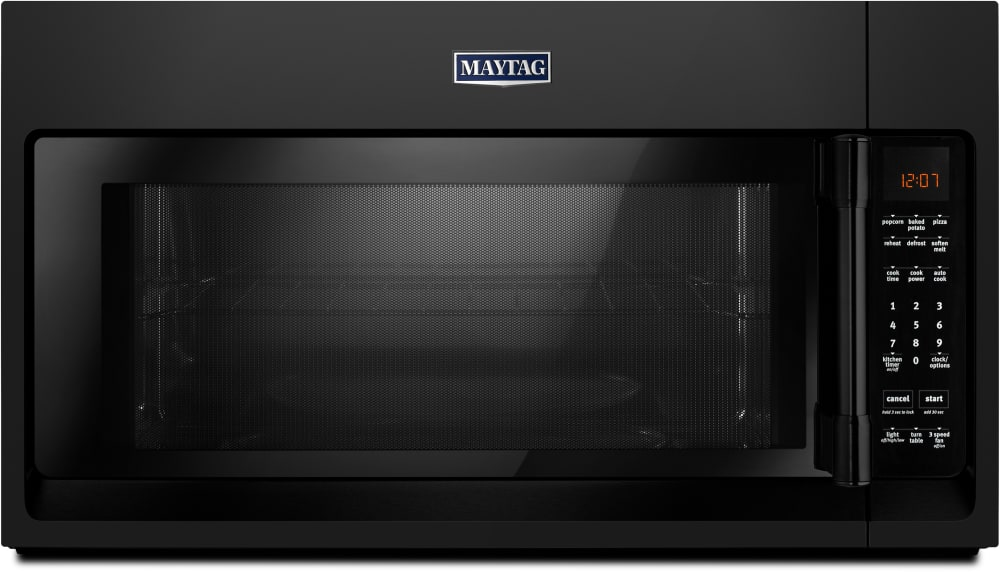 Maytag Mmv4206fb 2 0 Cu Ft Over The Range Microwave Oven