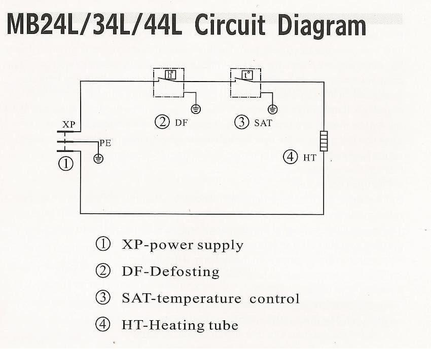 summit mb34l 16 inch minibar 40 0 liter capacity non summit mb34l wiring diagram