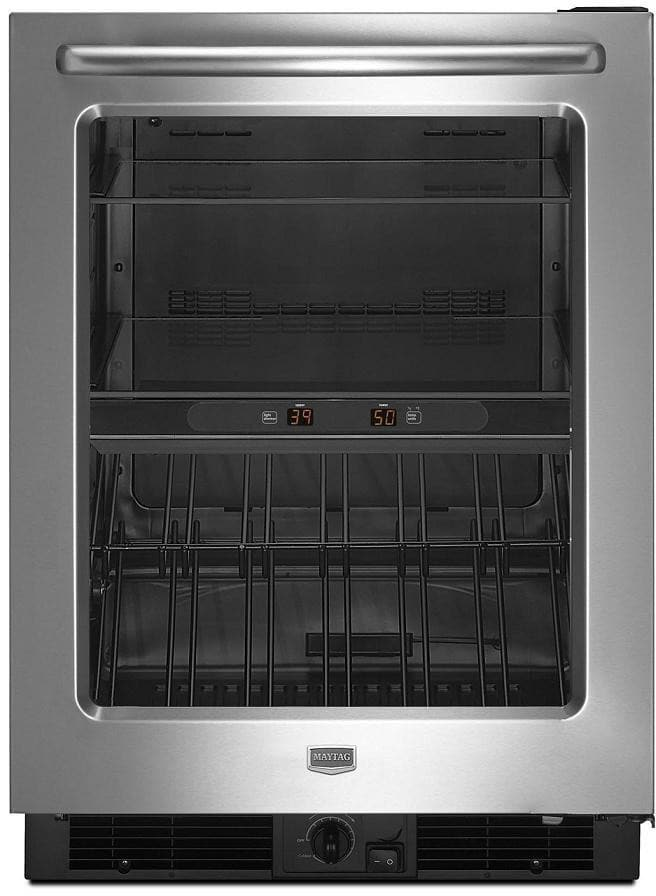 Maytag Mbcm24fwbs 24 Inch Beverage Center With 5 8 Cu Ft