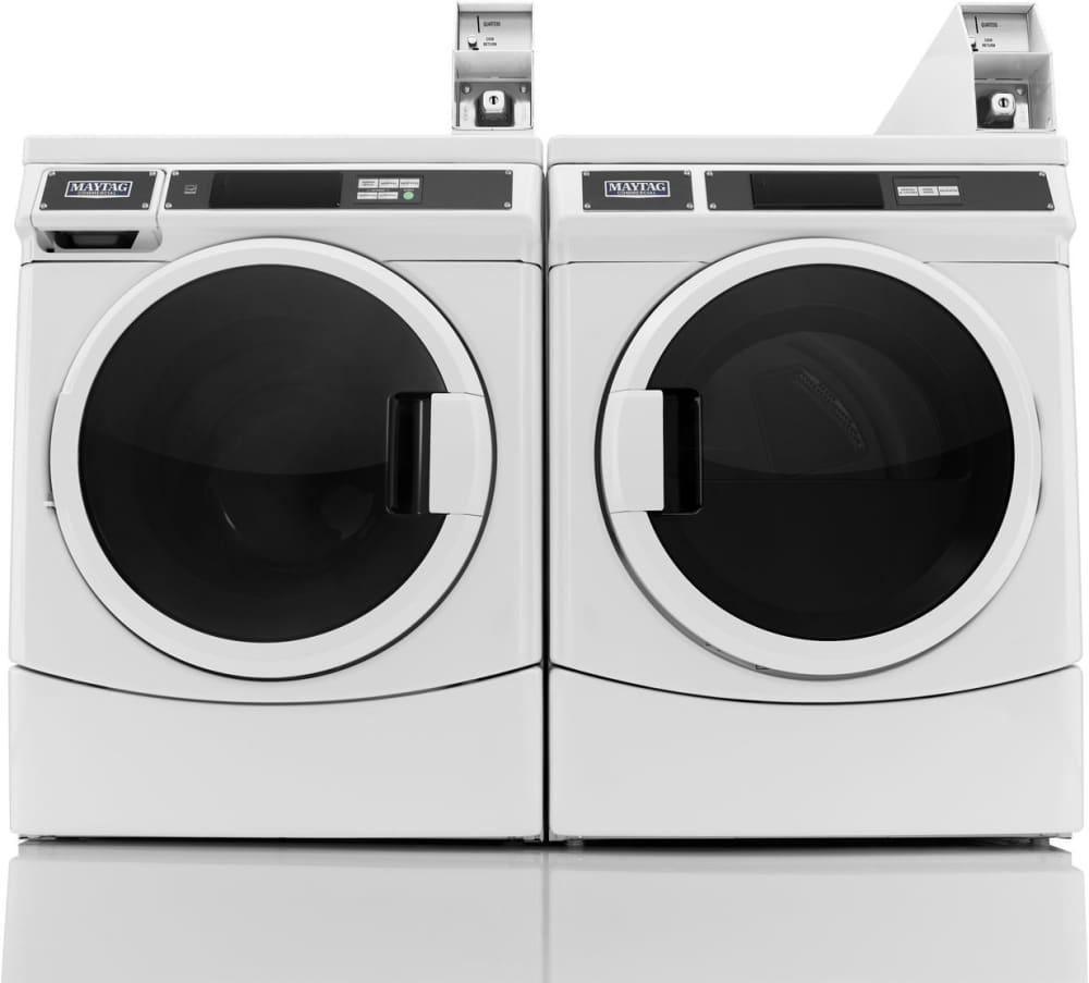 Maytag Mdg28pdcww 27 Inch Commercial Gas Dryer With 6 7 Cu