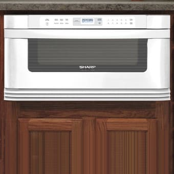 Sharp Kb6002lw 1 0 Cu Ft Built In Microwave Drawer With