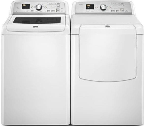 Maytag Medb725bw 29 Inch Electric Dryer With 7 3 Cu Ft