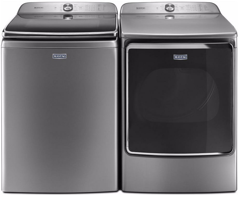 Maytag Mawadrec5 Side By Side Washer Amp Dryer Set With Top