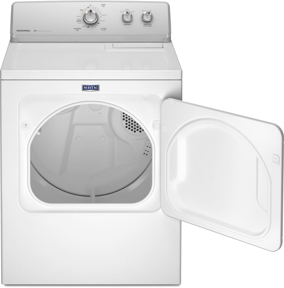 how to open maytag performa dryer