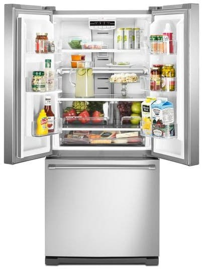 Maytag Mff2055drm 19 7 Cu Ft French Door Refrigerator