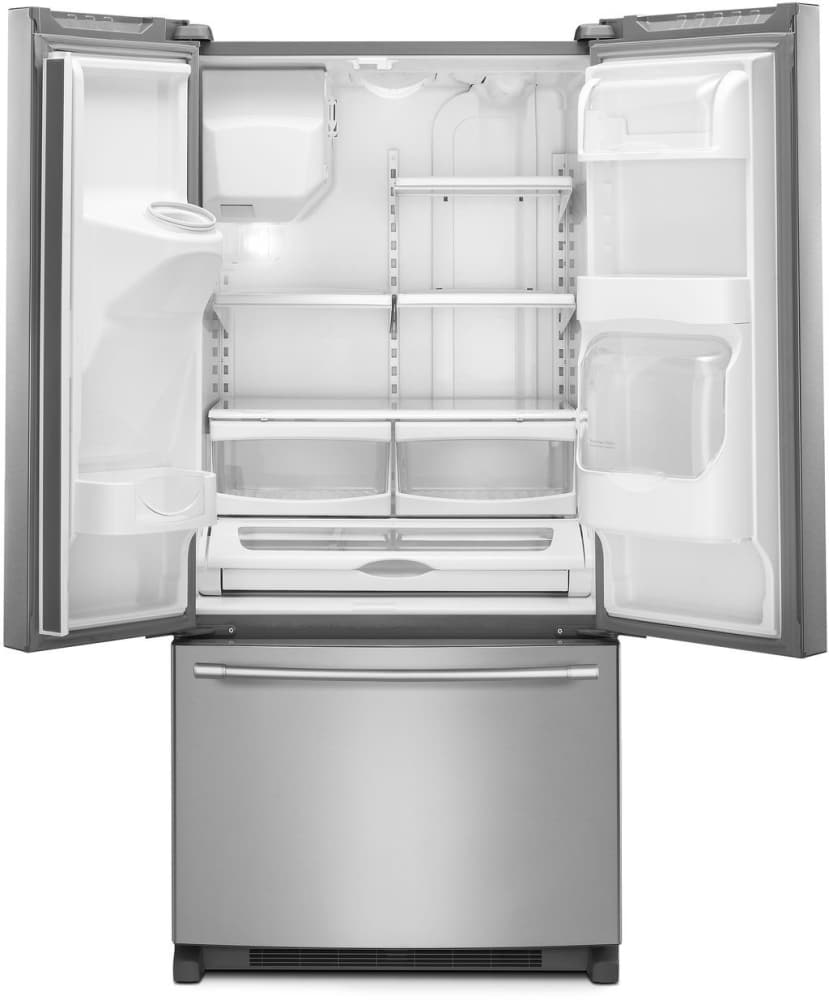 refrigerator tray. refrigerator with beverage chiller compartment maytag mfi2269frz - spill-proof glass shelves 3 adjustable half-width; tray s