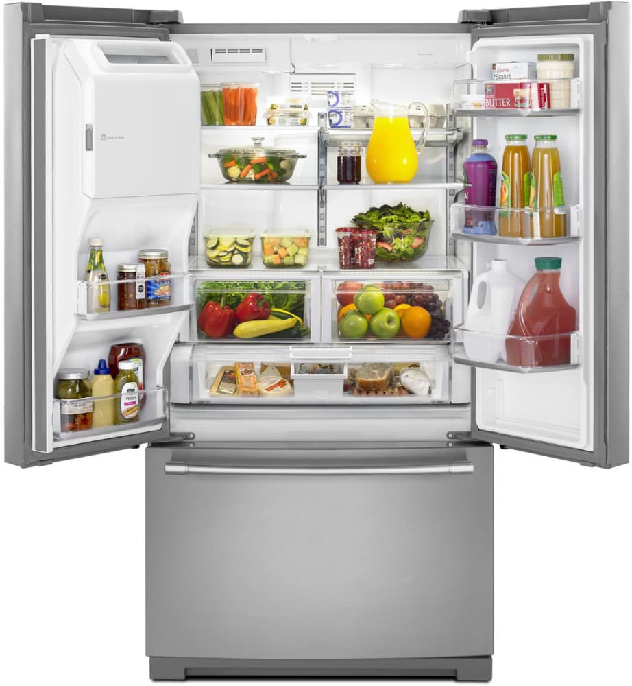 Maytag french door refrigerator reviews -  Maytag Heritage Series Mft2776fez With 27 Cu Ft Worth Of Storage Space