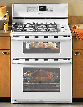 Maytag Mgr6772bdw 30 Inch Freestanding Double Oven Gas