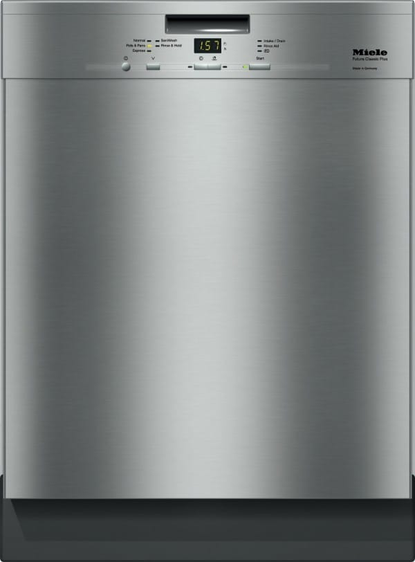miele g4926scu full console dishwasher with 3rd rack autosensor technology cleanair drying. Black Bedroom Furniture Sets. Home Design Ideas