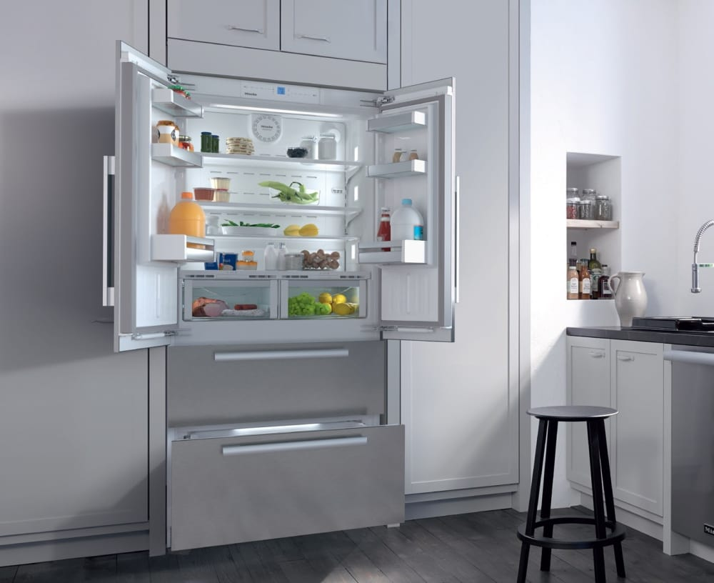 Miele Kfnf9955ide 36 Inch 4 Door Built In Panel Ready French Door