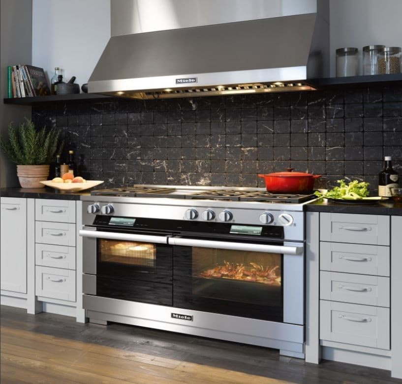 miele hr1956dfgdx 48 inch pro style dual fuel range with. Black Bedroom Furniture Sets. Home Design Ideas