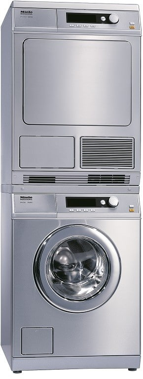 Miele Miwadress26065 Stacked Washer Amp Dryer Set With Front
