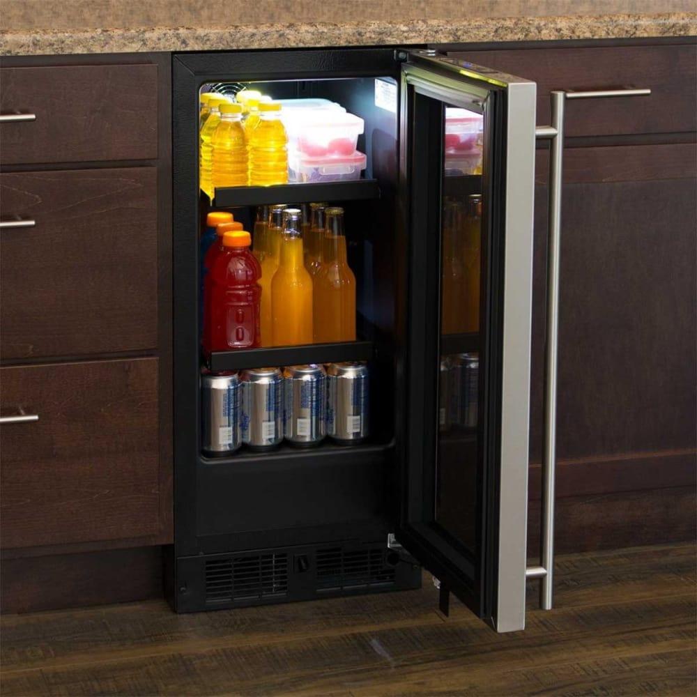 Marvel ml15bcp3rp 15 inch beverage center with adjustable for Ajmadison