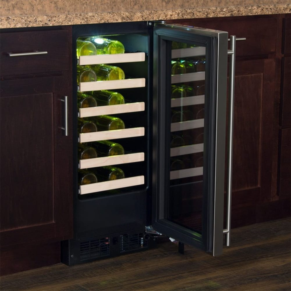 Marvel Ml15wsf3rp 15 Inch Single Zone Wine Refrigerator