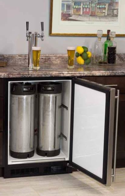 Marvel Ml24btp3lp 24 Inch Built In Beer Dispenser With
