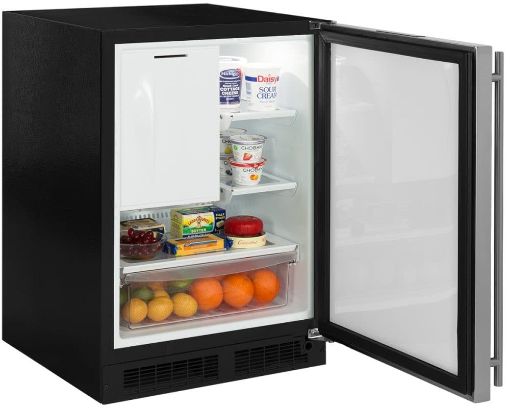 Marvel ML24RIS4RS 24 Inch Built-In Refrigerator Freezer with ...