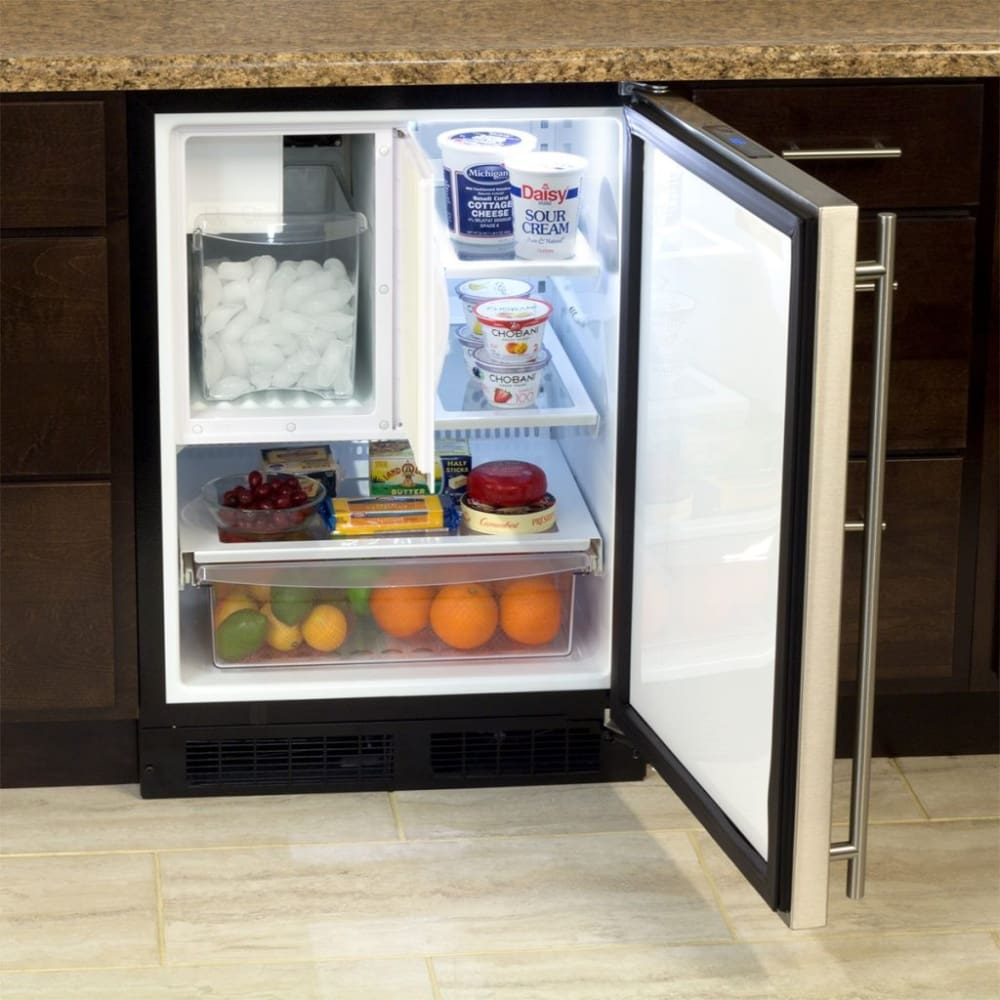 Marvel ML24RIS4RS 24 Inch Built-In Refrigerator Freezer ...